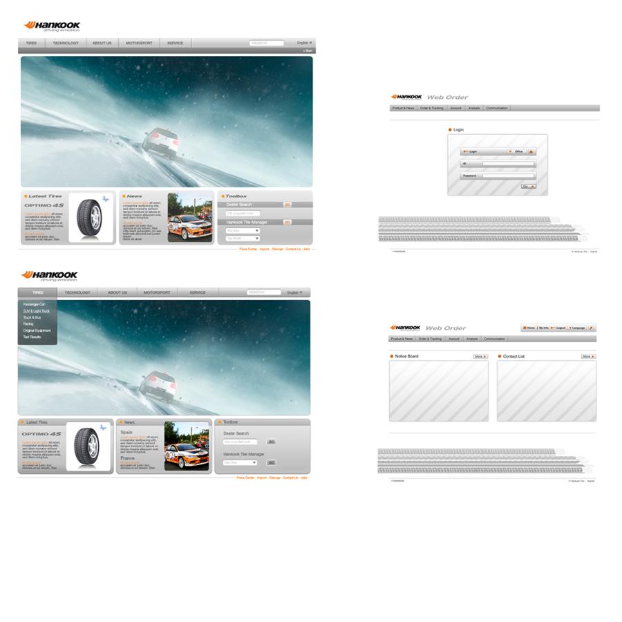 Hankook Tire Corporate Websites Eu Pommer Design